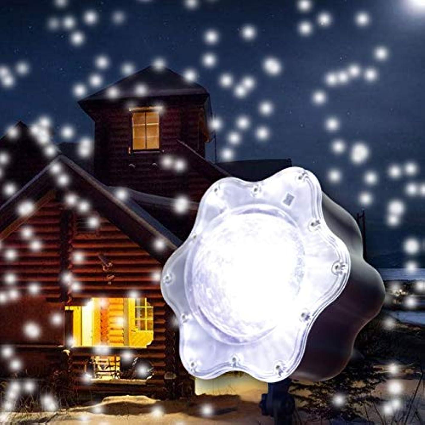 葉を集める怖がらせる同等のナイトライトプロジェクター - 暖かいロマンチックな雪クリスマスプロジェクタースポットライトLED屋内外ガーデンパーティークリスマスホリデー (版 : UK PLUG)