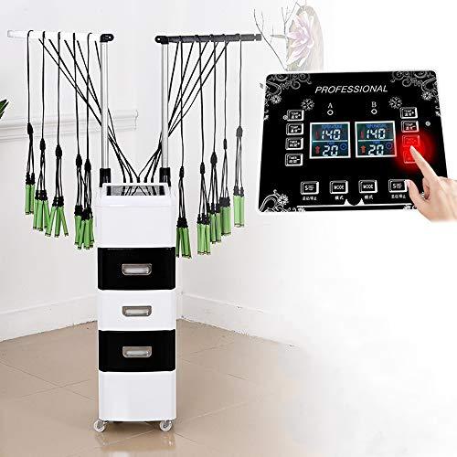 Bigoudi Perm Salon machine Coiffure Salon de coiffure Styling rapide RÉCHAUFFEMENT numérique Perming en céramique avec 3 tiroirs de rangement multi-fonctions