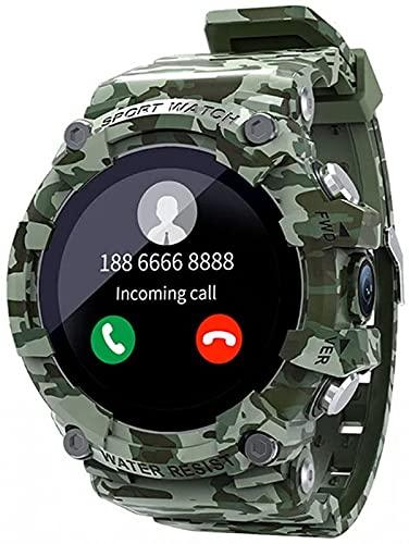 l b s SKY Reloj Inteligente SOS Una Llave De Emergencia 4G Reloj De Llamada Deporte Fitness Tracker Cámara Bluetooth Reloj Hombres Para Android IOS (B)