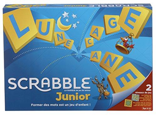 Scrabble Junior, Jeu de Société et de Lettres pour Enfants d