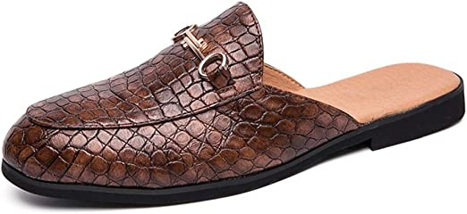 Color : Brown, Size : 8.5 M US Zhukeke Casual Oxfords for Men Loafers with Front Tassel Comfortable Slip-on Flats Shoes PU Leather Round Toe Wear-Resistant