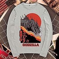 ゴジラ 長袖 Tシャツ キング・オブ・モンスターズ Godzilla メンズ/レディース Tシャツ/春秋 ロングスリーブ Tシャツ 長袖 Tシャ