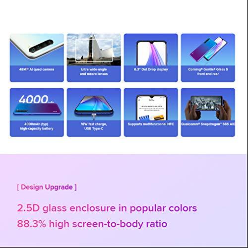 Xiaomi Redmi Note 8T - Smartphone con schermo da 6,3