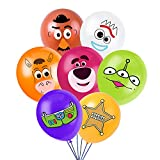 Toy Inspired Story Party Supplies, Birthday Party Balloons for Toy Theme Party, Includes 7 Styles Printed Ideal for Kids Party Decorations Favors (28PCS)