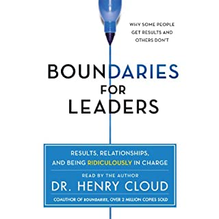 Boundaries for Leaders audiobook cover art