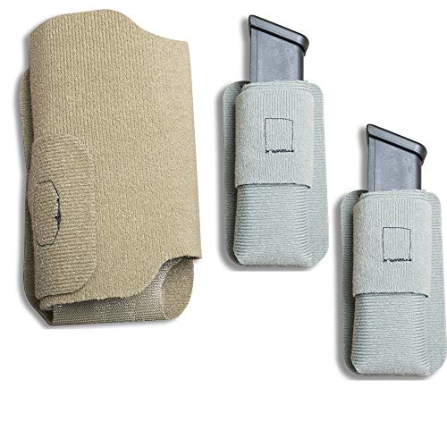 Vertx 3 Item Bundle MPH SUB Holster in Tan & 2 MAK Standard Adapters in Gray