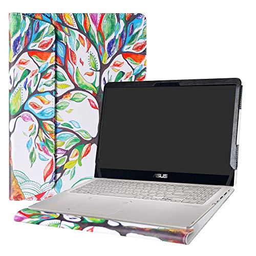 Alapmk - Carcasa para ASUS Q525UA Q505UA Q535UD y ZenBook Flip 15 UX561UD UX561UN y VivoBook Flip 15 TP510UA TP510UQ, Love Tree