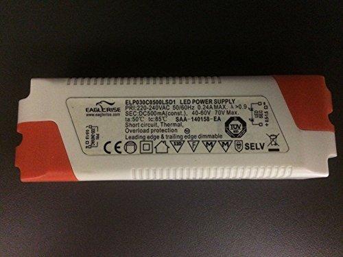 LED DRIVER Eaglerise 30W 500MA dimmbar ELP030C500LSD1 Trafo