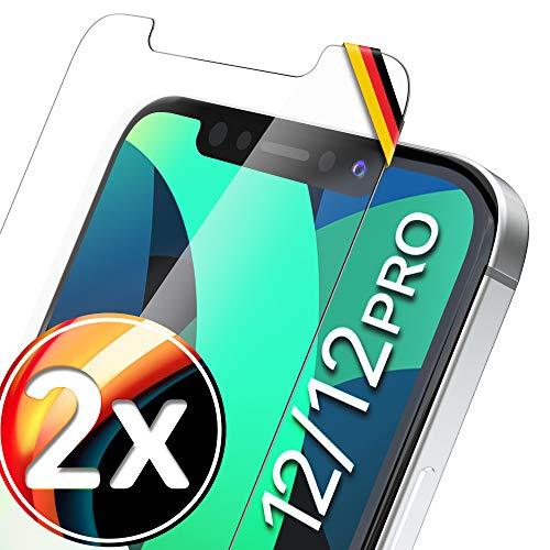 UTECTION 2X Schutzglas für iPhone 12, iPhone 12 Pro (6.1