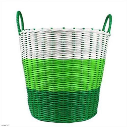 Heding Washable multi-function storage basket storage basket receiving supplies (Color : B)