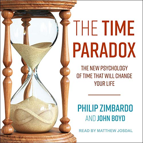 The Time Paradox audiobook cover art