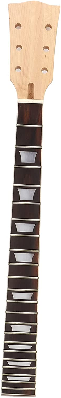 Jazar Accesorios para Instrumentos Musicales, sostenido 22 trastes Fácil de Instalar Diapasón de Cuello de Guitarra de resonancia para Instrumento Musical LP para GS405