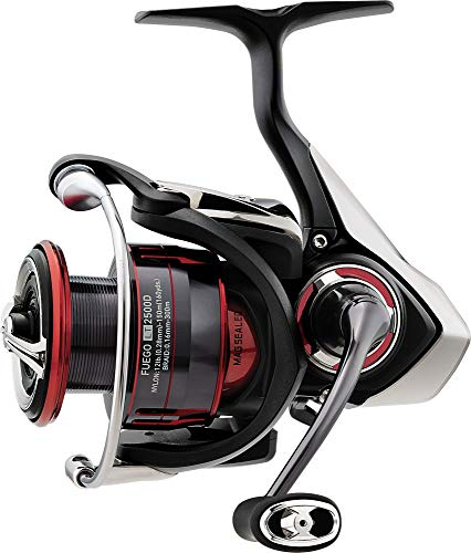 Daiwa Fuego LT 5000D CXH, Spinning Angelrolle mit Frontbremse, 10225-505