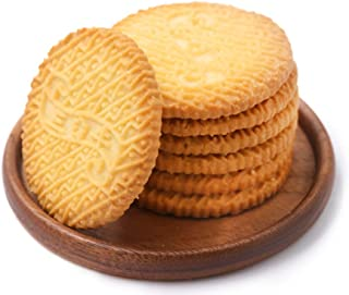 OuYang Hengzhi Shanghai Specialty Round Biscuit Chive Flavor Xiang Cong Su 鲜葱酥 0.5kg/1.1lb