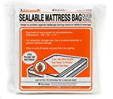 "U-Haul Sealable Mattress Bag - Moving and Storage Protection for Mattress or Box Spring - 3 Mil (Queen or King Size Mattress) - 100"" x 91"" x 14"""