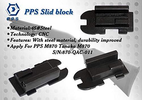 [強靭なスライダーブロック] PPS M870 ガスショットガン スチール製 スライダーブロック 1ピース構造 870-QAC-011
