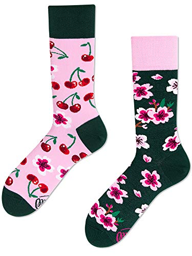 Many Mornings unisex Socken Cherry Blossom (Pink, 39-42)