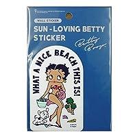 ベティーちゃん Betty Boopベティーブープ ステッカー ST-SLBT03 W65xH107mm ベティちゃんアメ雑 アメリカン雑貨