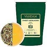 VAHDAM, Süßer Himalaya Detox Grüner Tee Loses Blatt (100 Tassen) | 100{b1994efc249bba28d557ad14ee37769ed5f309394e2e8a7d6315b20d7cfc2344} NATÜRLICHER DETOX TEE | Green Tea, Stevia, Kurkuma, Shatavari, Kardamom, Ashwagandha | Detox Tee zum Abnehmen| Abnehmtee | 200gr
