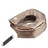 labwork Turbo Heat Shield Cover Barrier Turbo Charger Cover Wrap Replacement for T3 T25 GT28 GT30 GT35 GT37
