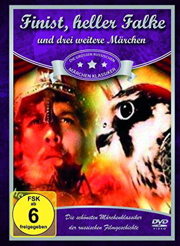 Russische Märchen-Collection 1 (Finist, heller Falke - Märchen in der Nacht erzählet - Der Reiter mit dem goldenen Pferd - Der Zaubermantel) [4 DVDs]
