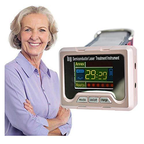 Lasertherapie Armbanduhr,Halbleiter Laser Behandlung Instrument,Verstopfte Nase Physiotherapie Ausrüstung,Stuffy Nasentherapiegerät,Reduzieren Hypertonie Hyperglykämie Hyperlipidämie Therapiegeräte