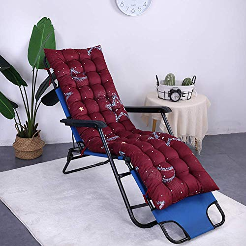 Outdoor Indoor Outdoor Patio High Back Chair Pad Rocking Chair with Ties Thick Padded Rocking Chair Cushion Swing Bench Cushion Garden Recliner-g 48x160cm (19x63inch)