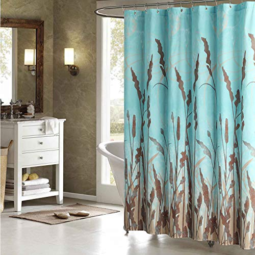 DS CURTAIN Montana Fabric Shower Curtain,Waterproof...