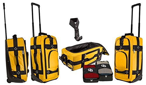 Club Glove Carry On II–Bagaglio a mano Borsa da viaggio/Trolley da viaggio, Gelb (Multicolore) - GLCO2037