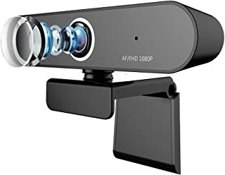 FHD 1080P Desktop or Laptop Webcam,BSTCAM Auto Focus USB Web Camera with Two Build-in Micphone for Skype, Video Calling,Conferencing, Recording, Streaming