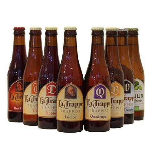 La Trappe Trappist Craft Beer Probierpaket (8 x 0,33L Flaschen) Trappistenbier biergeschenke