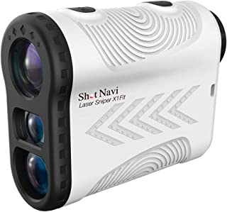 ショットナビ Laser Sniper X1 Fit(レーザー スナイパー) [レーザー距離計測器]/shot navi (ホワイト)
