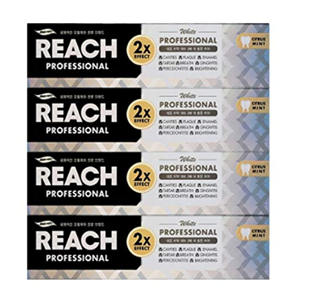 中庭分析素晴らしいです[LG生活と健康] LG Rich Professional toothpaste whiteningリッチ、プロフェッショナル歯磨き粉ホワイトニング120g*4つの(海外直送品)