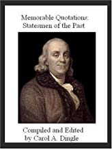 Memorable Quotations: Statesmen of the Past