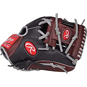Rawlings R9 Baseball Glove, Black, 11.5""