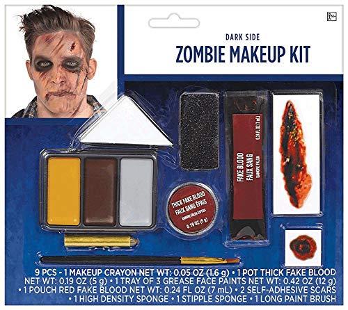 Maquillaje De Zombie  marca amscan