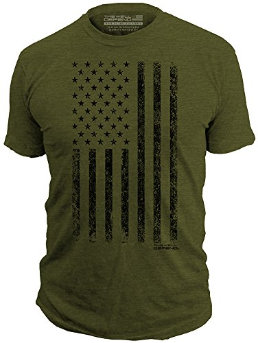 This We'll Defend - Distressed American Flag -...