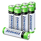 Best Rechargeable Batteries Aaas - Rechargeable AAA Batteries, AAA Batteries 1100mAh High-Capacity Rechargeable Review