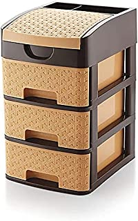 Maxxic Plastic Drawer System Organizer Rack | 1 Unit | Multicolor | Tabloid Storage for Home, Kitchen and Office Very Usef...