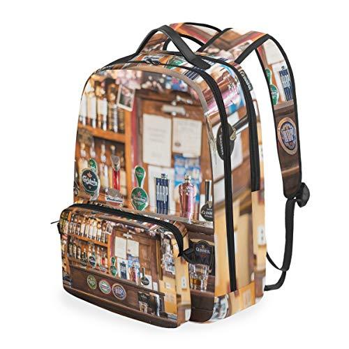MONTOJ Bartheke Cool Beer Reisetasche mit Crossbag Campus Rucksack