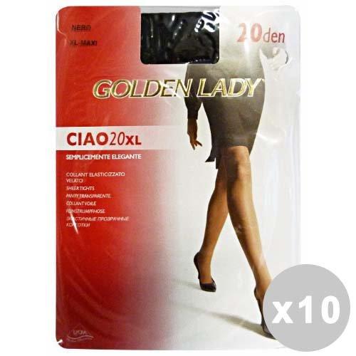 Ciao Set 10 Ciao panty 20 zwart maat XL 74O