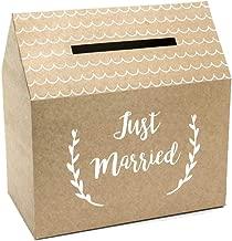 wYw Just Married - Buzón para Postes de Boda