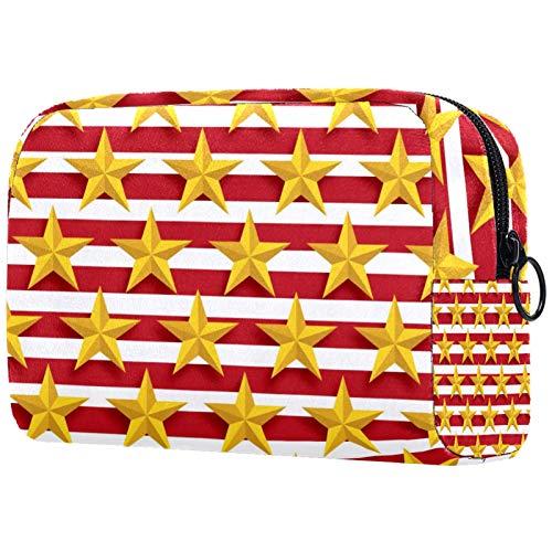 Neceser de viaje de nylon, Dopp Kit de afeitar bolsa de aseo, organizador de artículos de tocador,Fútbol fútbol verde deportes