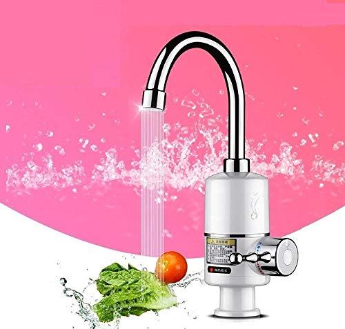 LXYZ Calentador de Agua de Grifo sin Tanque de 3000 W, Calentador de Agua eléctrico instantáneo, Grifo de Cocina, Grifo eléctrico instantáneo, 3 Segundos de Calentamiento