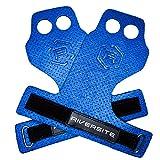 Riversite RX - Blue Grips Crossfit Calleras azules de microfibra para entrenamiento Cross Training , dominadas, muscle ups y protección de manos
