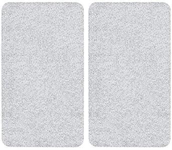 Wenko - Tabla Protectora Antisalpicaduras para Todo Tipo de Cocinas, Multicolor, 52 x 30x 4.5 cm, 2 Unidades