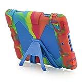 iPad Mini Case,iPad Mini 2 Case,iPad Mini 3 Case,ACEGUARDER iPad Mini Full Body Protective Case Durable Anti-Slip Shock-Absorption Soft Silicone Case (Ice Cream)