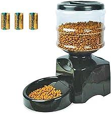 自動給餌器 猫 ペットフィーダー 電池セット 自動給餌機 タイマー設定 音声録音機能 餌入れ 給餌器 自動餌やり ペット 猫 犬 1年保証