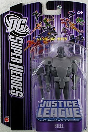 perfecto DC Super Heroes  Justice Justice Justice League Unlimited Steel Action Figure by Mattel Toys  tienda