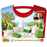 Goliath Super Sand Maletin Creativo Arena Magica, Color Blanco (383325.006)
